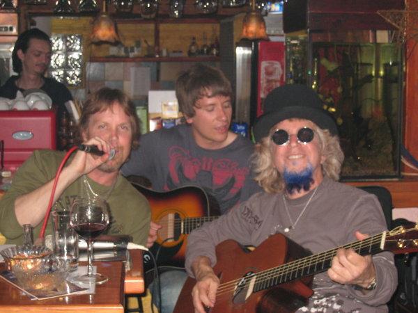 Acoustic Blue in Belgrade, Serbia